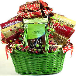 Glad Tidings Holiday Gift Basket