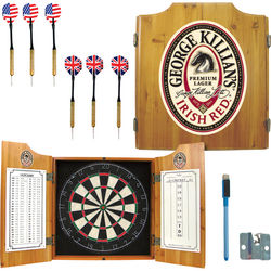 George Killian's Irish Red Dart Cabinet