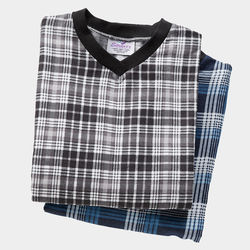 Men's Adaptive Flannel Hospital Gowns