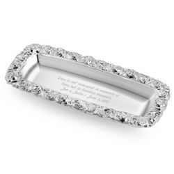Personalized Monique Lhuillier Sunday Rose Vanity Tray