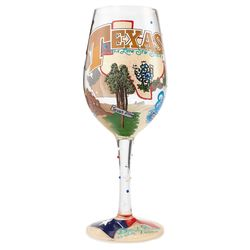 The Lone Star State Wine Glass