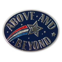 Above and Beyond Lapel Pin