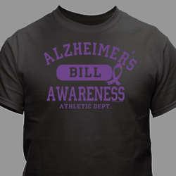 Personalized Alzheimer's Awareness T-Shirt