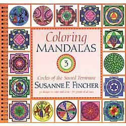 Coloring Mandalas 3 Spiral-Bound Book