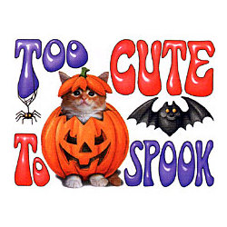 Too Cute To Spook T-Shirt