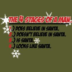 Four Stages Of A Man T-Shirt