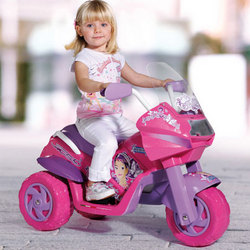 Battery Operated Princess Motorcycle Ride On