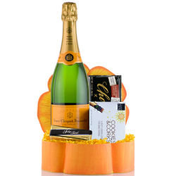 Champagne and Chocolate Birthday Gift Box