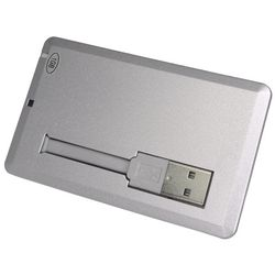 Credit Card USB Flash Drive 1 GB