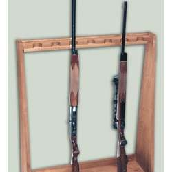 Standing Rifle Rack
