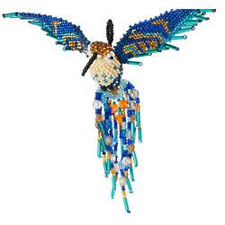 Beaded Hummingbird Ornament