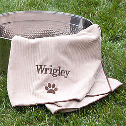 Personalized Dogs Unleashed Towel