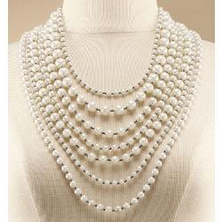 La Femme Pearl Necklace