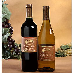 Cliffside Cabernet and Chardonnay Gift Set