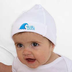 Baby Boy's Surfer Dude Hat