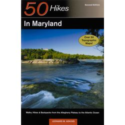 50 Hikes in Maryland 2nd Edition Book