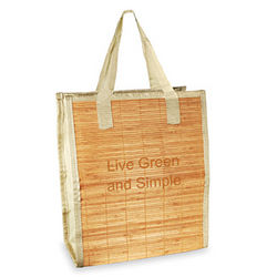 Eco Friendly Bamboo Grocery Tote Bag