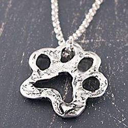Open Paw Necklace