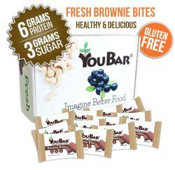 6 Assorted Custom Energy Bars Gift Box