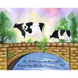Dairy Cow's Life PersonalizedPrint