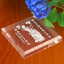 Personalized Hawaiian Dancer Paperweight