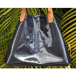 Allison Patent Leather Bag