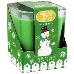 Evergreen Holiday Soy Candle