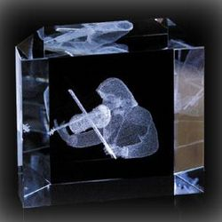 Violin Paperweight