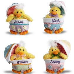 Personalized Baby Chicks and Zippered Eggs