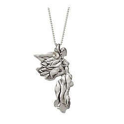 Nike Goddess Pendant with Rock Crystal