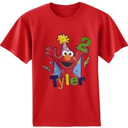 Personalized Elmo Birthday 2T T-Shirt