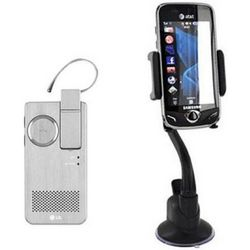 Suction Cup Mount and Original Bluetooth Headset