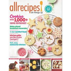 Allrecipes Magazine Subscription 6 Issues Every Two Months