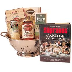 Family Supper Pasta Dinner Gift Basket