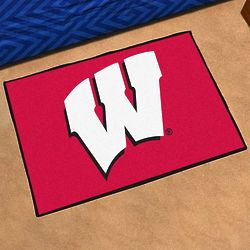 Wisconsin Fanmat Door Mat