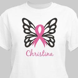 Butterfly Awareness Ribbon T-Shirt