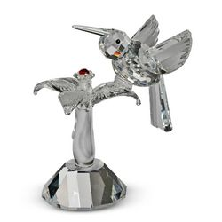 Crystal Hummingbird Figurine