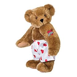 """15"""" Heart Throb Teddy Bear with Tattoo"""