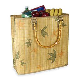 Bamboo Leaf Shopping Tote Bag