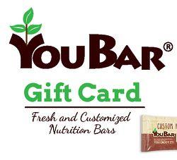 YouBar Custom Energy Bar Email Gift Certificate