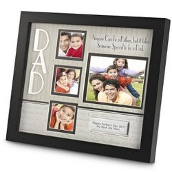 Dad Shadowbox Picture Frame