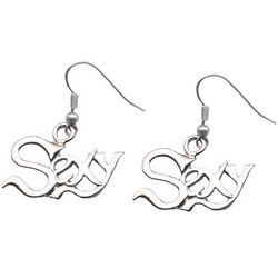 Sexy Pewter Earrings
