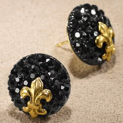 Parisian Fleur de Lis Post Earring