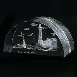 Lighthouse Paperweight