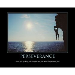 Perseverance Personalized Art Print