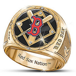 Men's Pride of Boston Commemorative Ring
