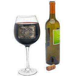 Royal Crested Gigantic Wine Glass