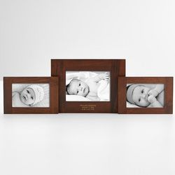 New Baby's 3-Piece Swivel Picture Frame