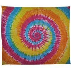 Tie Dye Swirl Tapestry