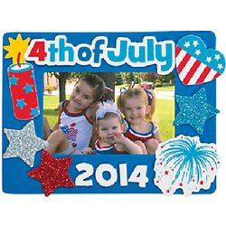 4th of July Picture Frames Craft Kit